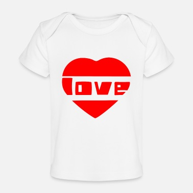 Love With Heart love with heart - Baby Organic T-Shirt