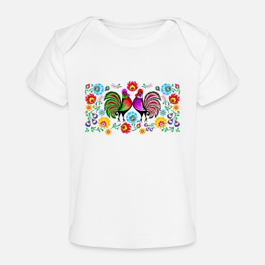 Rooster rooster - Baby Organic T-Shirt