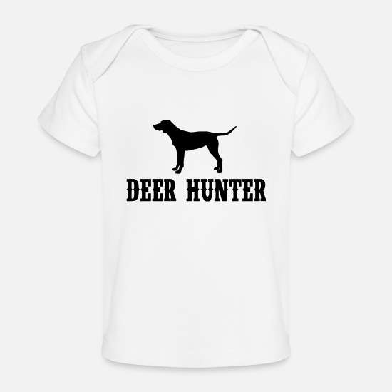 Stag Baby Clothing - Deer Hunter - Baby Organic T-Shirt white