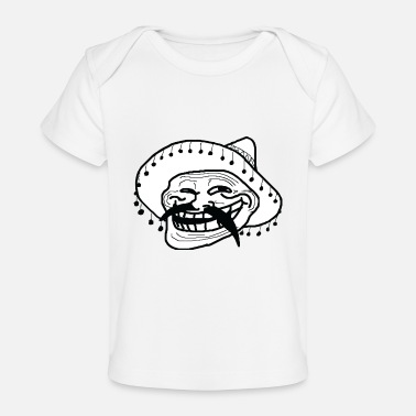 Rage Face Comic mexican - Baby Organic T-Shirt