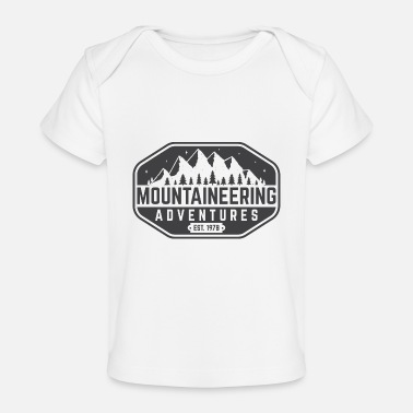 Advent mountaine advent - Baby Organic T-Shirt