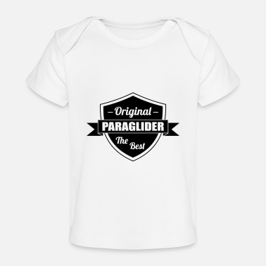 Relax The best Paraglider - Baby Organic T-Shirt