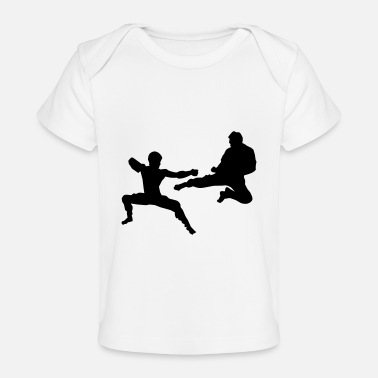 Sparring Kumite or Sparring - Baby Organic T-Shirt