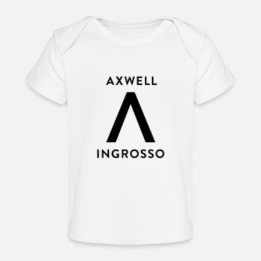 House Axwell Ingrosso (Black Text) - Baby Organic T-Shirt