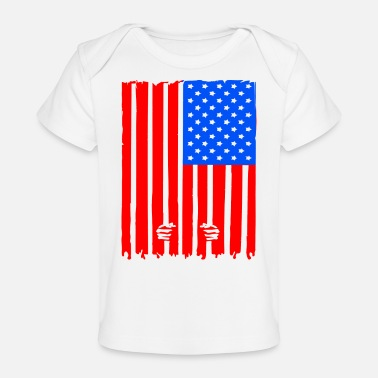 Prisoner USA is Prison - Baby Organic T-Shirt