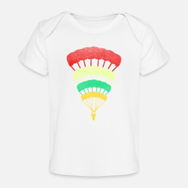 Skydiving Gift Idea for skydiver - Baby Organic T-Shirt