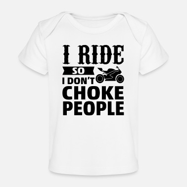 Motor Sport motorcycle quote - Baby Organic T-Shirt