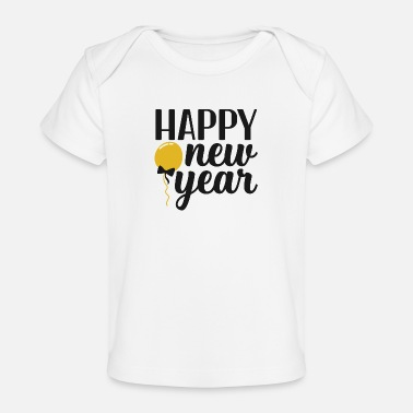 Awesome Happy New Year - Baby Organic T-Shirt