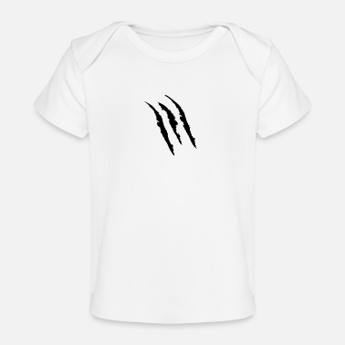 Mark-something Claw Marks - Baby Organic T-Shirt