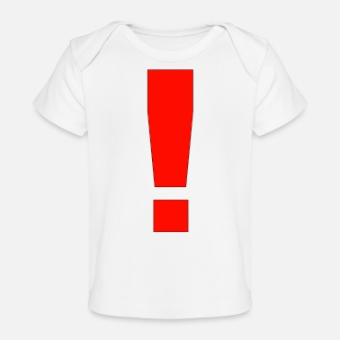 Exclaimation Exclamation Point - Baby Organic T-Shirt