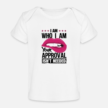 Funny Bowling Your approval isn t needed - Baby Organic T-Shirt
