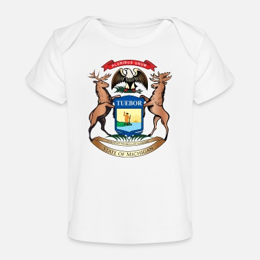 Michigan Michigan - Baby Organic T-Shirt