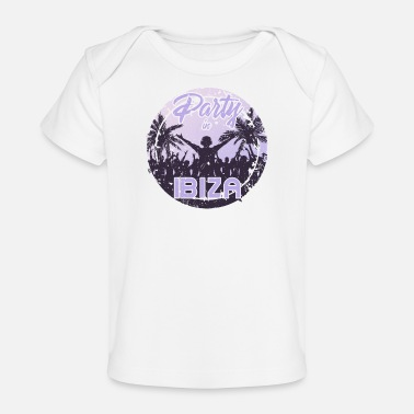 Europe Party in Ibiza - Baby Organic T-Shirt