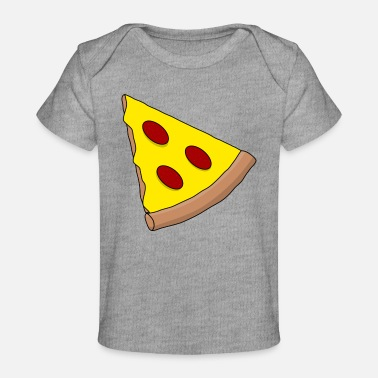 Sliced Pizza pizza slice - Baby Organic T-Shirt
