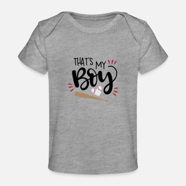 My Heart Thats my boy - Baby Organic T-Shirt