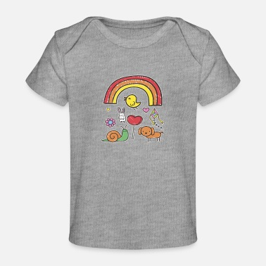 Cute Animals Cute Animals - Baby Organic T-Shirt