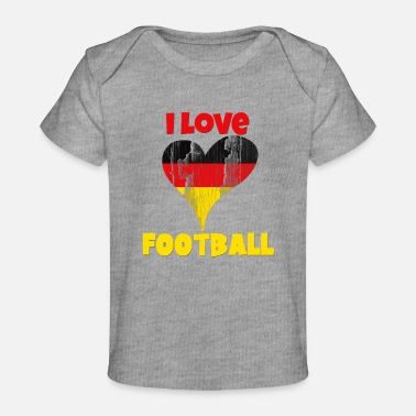 Summer Fairy Tale Germany Deutschland Football World cup Soccer - Baby Organic T-Shirt
