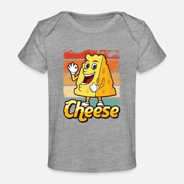 Fat Dairy Cheese Food Gift Idea - Baby Organic T-Shirt