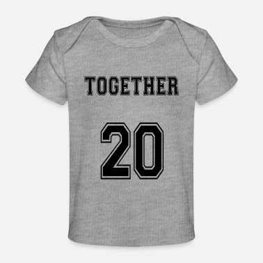 Married Couple Married. Couple. Love. Wedding - Baby Organic T-Shirt