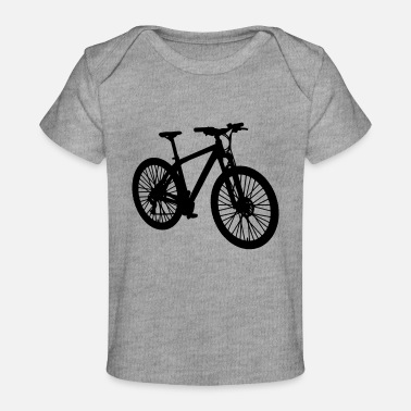 Bike Mountain bike - Baby Organic T-Shirt