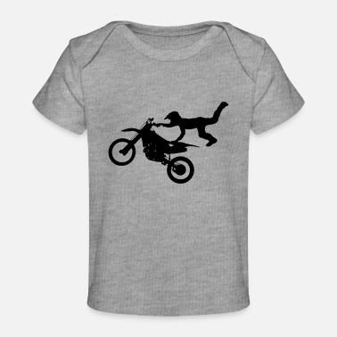 Bike Motocross - Baby Organic T-Shirt