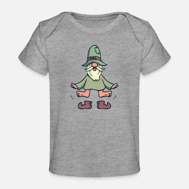 Sweden Norway troll dwarf mythical creature Typical souve - Baby Organic T-Shirt