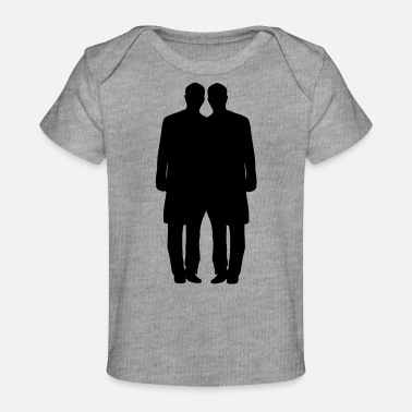 Gay Marriage Gay couple marriage - Baby Organic T-Shirt