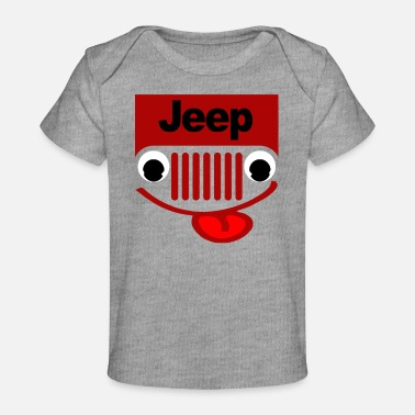 Jeep With Eyes - Baby Organic T-Shirt
