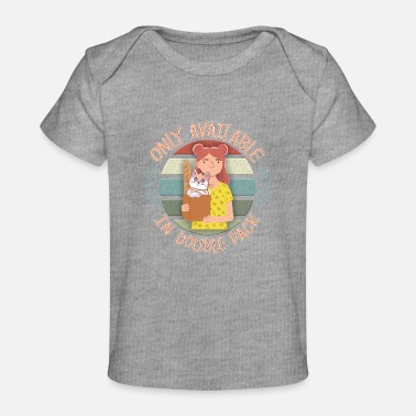 Life Flower Only available in double pack with my cat - Baby Organic T-Shirt