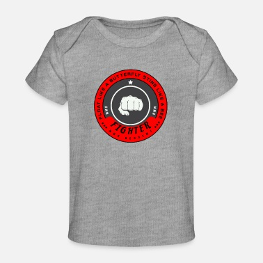 Mc MMA Fighter Boxer Boxing - Baby Organic T-Shirt
