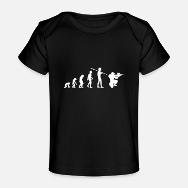 Paintball Paintball Evolution Paintballer Paintball Game - Baby Organic T-Shirt