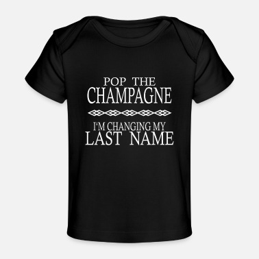 Slave POP THE CHAMPAGNE STAG NIGHT HEN NIGHT - Baby Organic T-Shirt