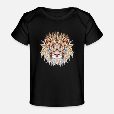Ethnic Tribal Lion - Baby Organic T-Shirt