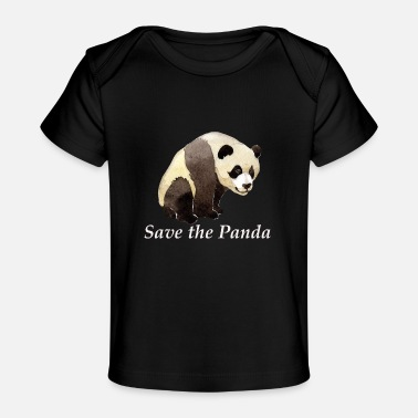 Greenpeace save panda greenpeace animal beary gift wildlife - Baby Organic T-Shirt