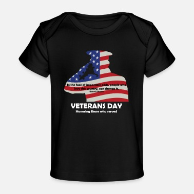 Veterans Day - Baby Organic T-Shirt