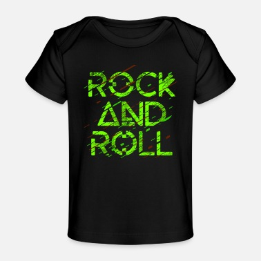 Funky Rock and roll - Baby Organic T-Shirt