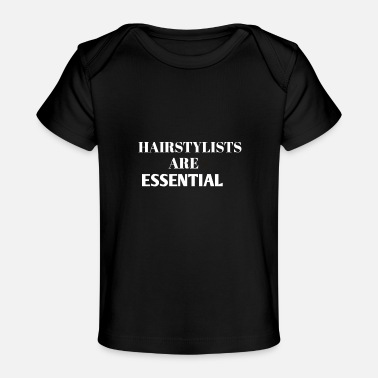 Hairstyle Hairstyle ARE Essential - Baby Organic T-Shirt