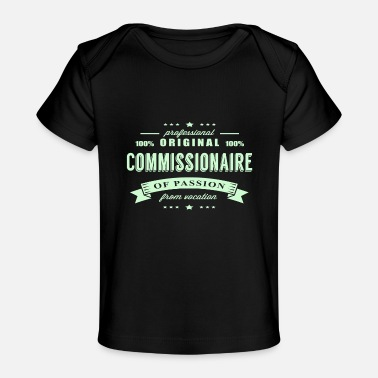 Commissionaire Passion T-Shirt - Baby Organic T-Shirt