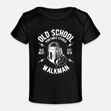 Walkman Old School Walkman - Baby Organic T-Shirt