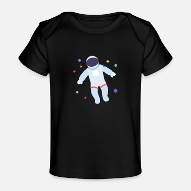 Weightless Astronaut weightless in space | Gift idea - Baby Organic T-Shirt