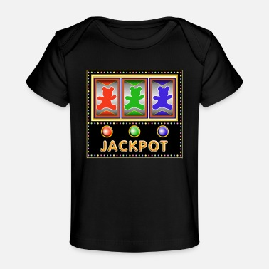 Slot slot machine with teddy bears - Baby Organic T-Shirt