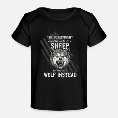 Government The government wanted a sheep - Baby Organic T-Shirt