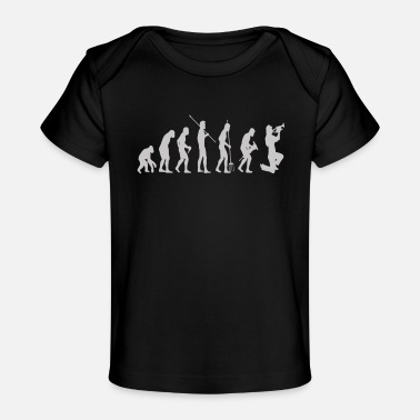 Evolution Evolution Trumpet Player - Baby Organic T-Shirt