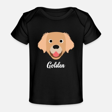 Golden Retriever Golden - Golden Retriever - Baby Organic T-Shirt