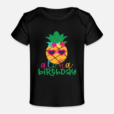Birthday Girl Girls Birthday - Baby Organic T-Shirt