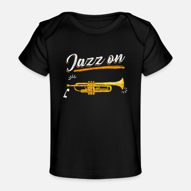 Band Trumpet Music Jazz - Baby Organic T-Shirt