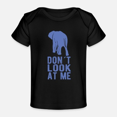 Elephant Saying Elephant Saying - Baby Organic T-Shirt