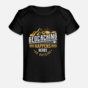 Treasure Geocacher Geocaching Geoache gift - Baby Organic T-Shirt