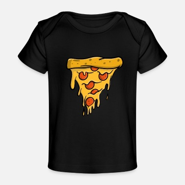Sliced Pizza Pizza, Pizza Slice - Baby Organic T-Shirt