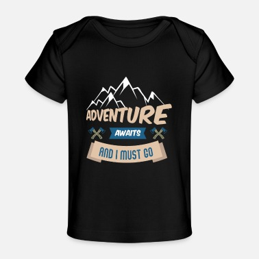 Mountains Mountains Mountaineering Mountain Tour Mountain - Baby Organic T-Shirt